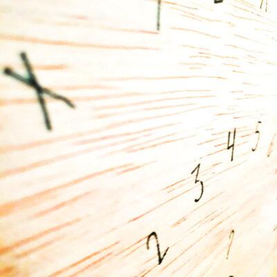 pendelmat hout groot zijkant