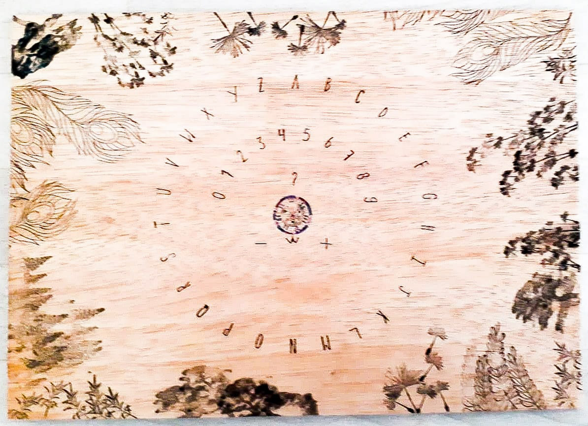 Pendelmat hout groot standaard