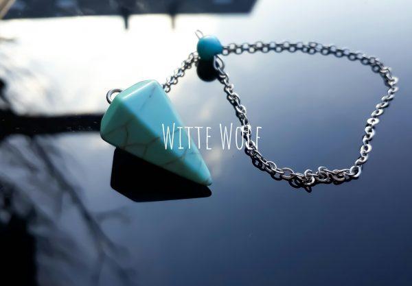 pendel turquoise