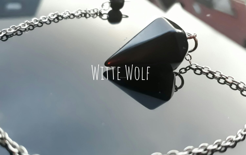 pendel zwarte onyx