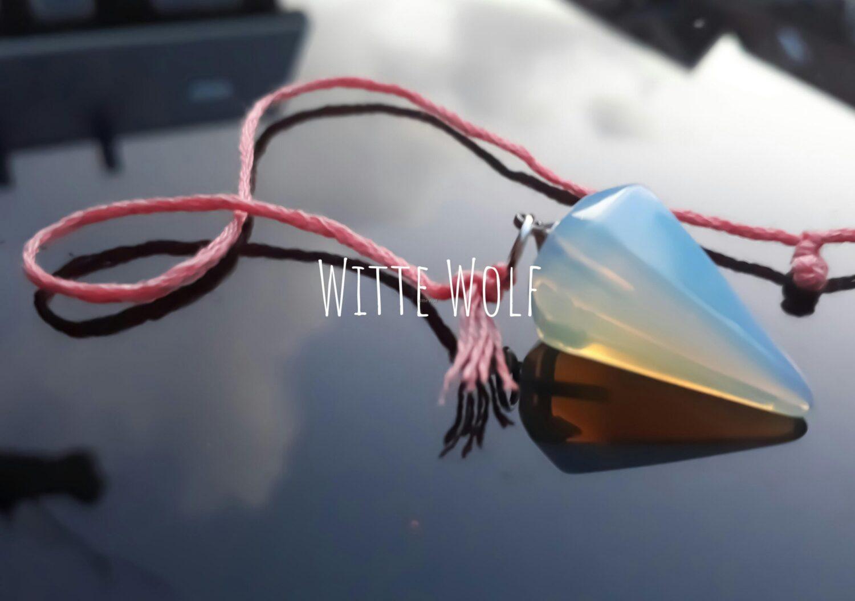 pendel opaal edelsteen