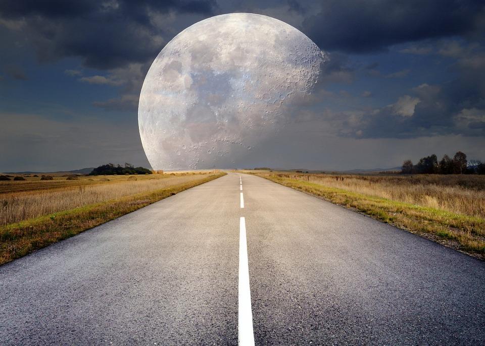 De volle maan van 9 februari 2020