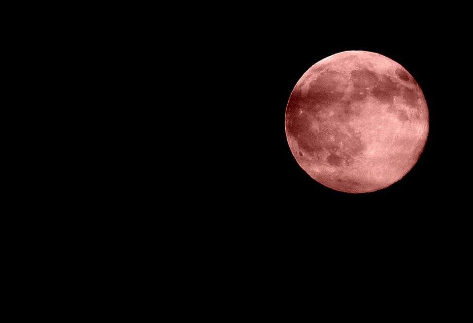 De volle maan van 10 januari 2020