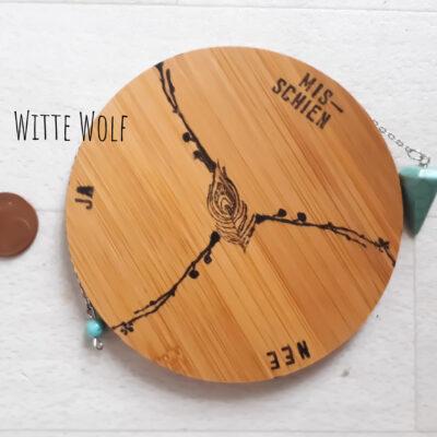 Pendelmat hout zakformaat