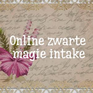 online zwarte magie intake