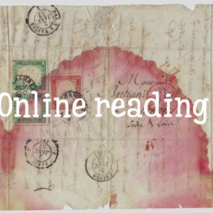 Online (foto)reading