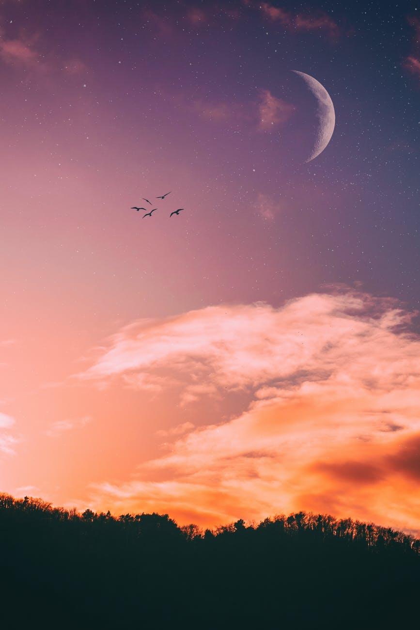 nieuwe maan van 23 april