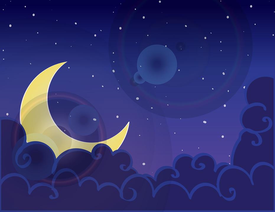 De nieuwe maan van 22 mei