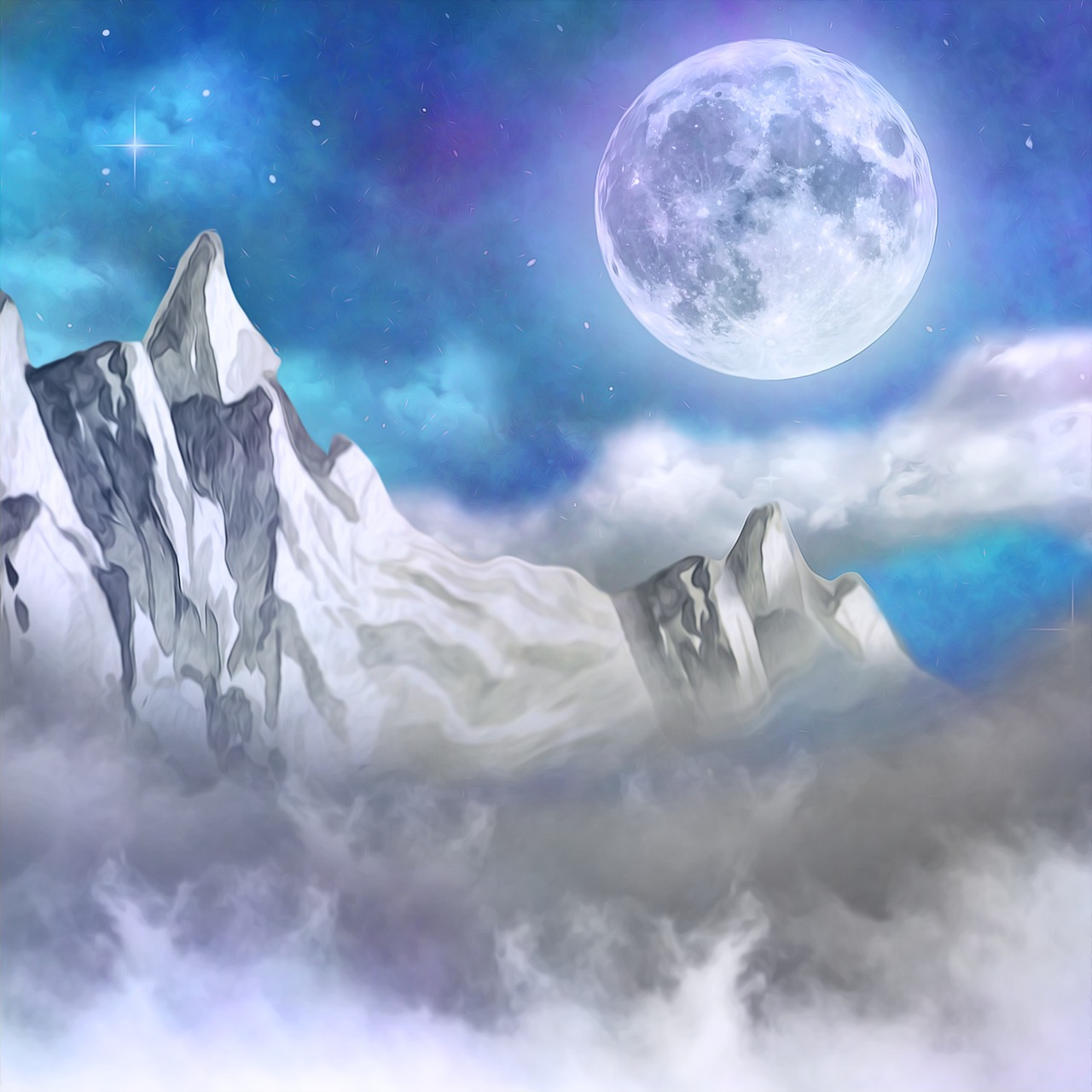 volle maan van 28 januari