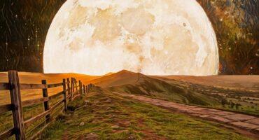 De volle maan van 21 september 2021